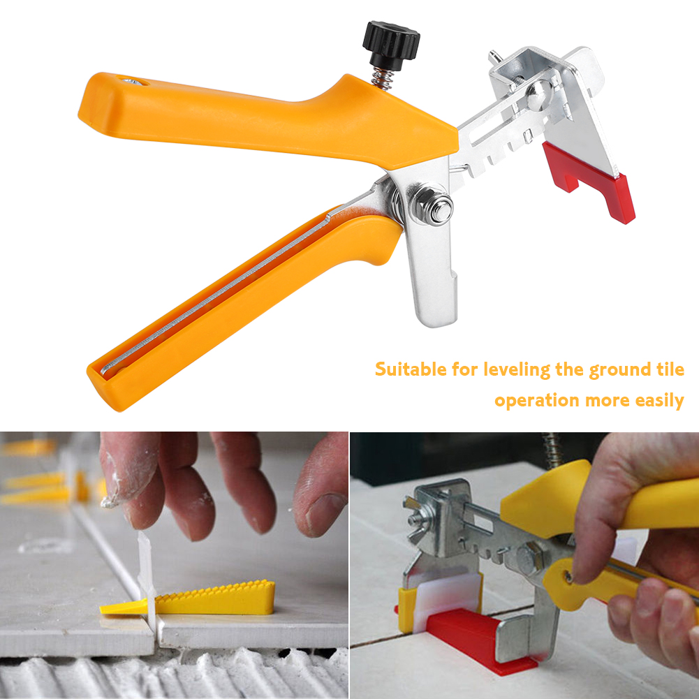 1pc Floor Pliers Tiling Locator Tile Leveling System Ceramic Tiles Installation Tool, Tile Spacer Pliers, Tiling Pliers