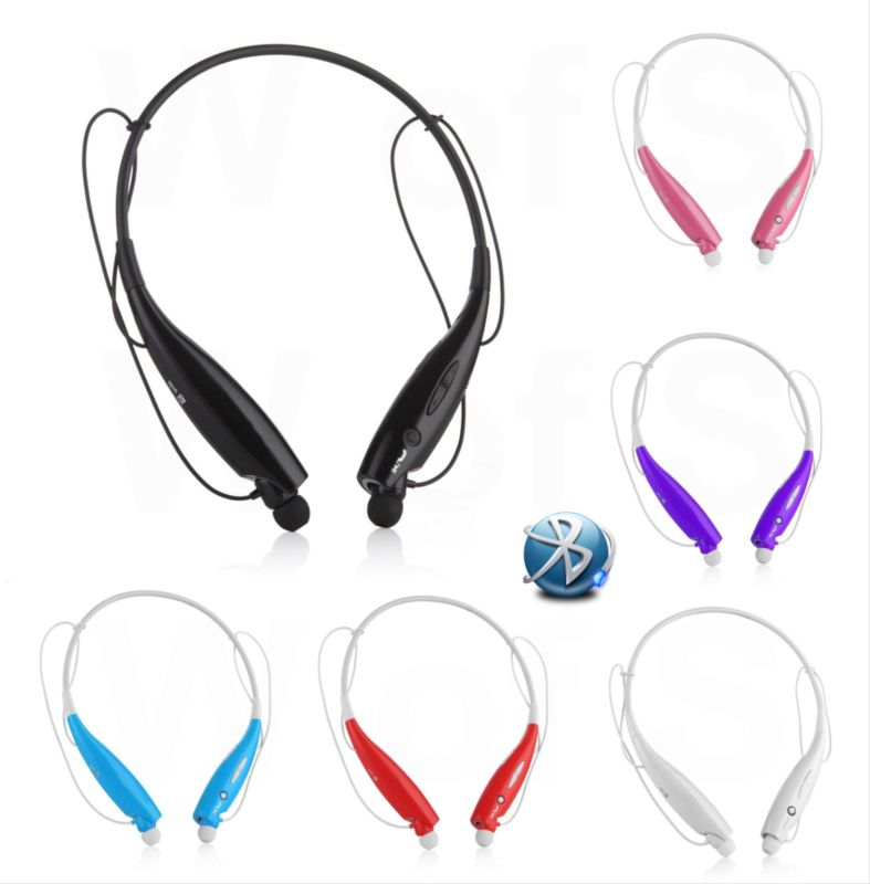 Sport Universal Wireless Bluetooth Headset Stereo Headphone Earphone Handfree