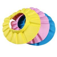 Adjustable Baby Kids Shampoo Bath Bathing Shower Cap Hat Wash Hair Shield