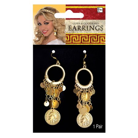 Goddess Earrings Adult Costume Accessory for $<!---->