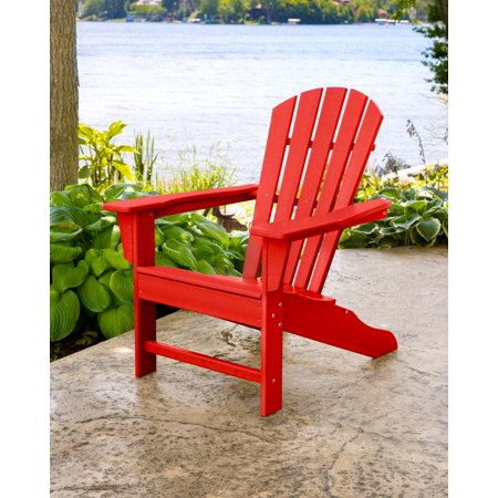 Better Homes & Gardens Red Faux Wood Lakeport Adirondack Chair