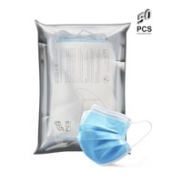 Ma Croix 50 pcs Disposable Face Mask 3-Ply Earloop