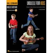 Ukulele for Kids - The Hal Leonard Ukulele Method: A Beginner's Guide with Step-By-Step Instruction for Ukulele (Other)