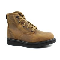 Georgia Boots Mens GB00362 Wedge Distressed Brown Leather Work & Safety Boots