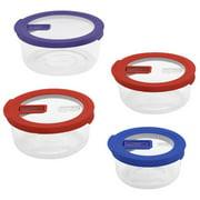 Bowl Set, No-leak, 8 Pc., World Kitchen, 1107742