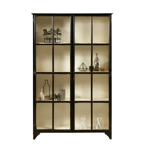 Accentrics Home Maura Iron Display Cabinet
