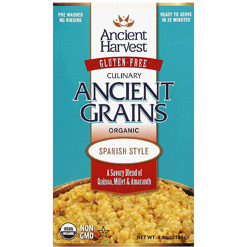 Ancient Harvest Ancient Grains Spanish Style Quinoa, 4.8 oz, (Pack of 12)
