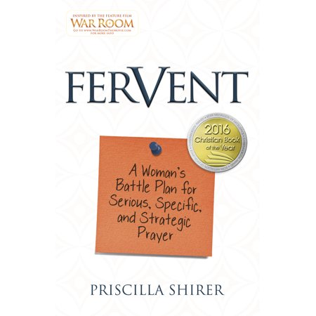 Fervent : A Woman's Battle Plan to Serious, Specific and Strategic Prayer](Hannukah Prayer)