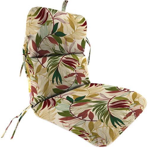 Jordan Manufacturing Outdoor Patio Replacement Chair Cushion, Oasis Gem