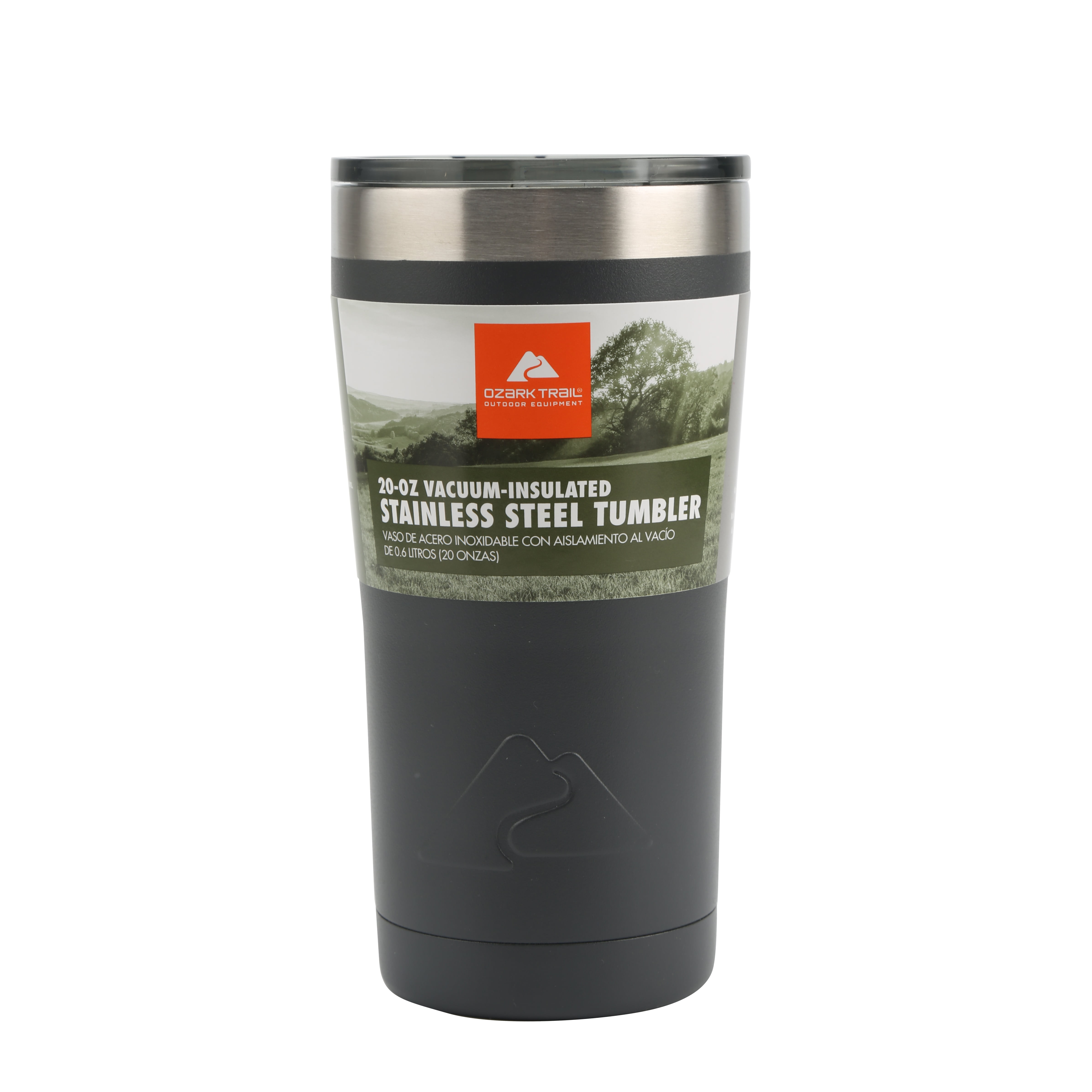 669a6e1f6d7 Ozark Trail 20-Ounce Double-Wall, Vacuum-Sealed Tumbler - Walmart.com