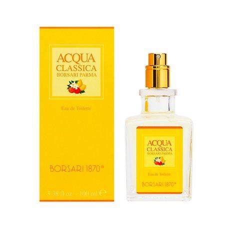 Acqua Classica by Borsari Parma 3.38 oz Eau de Toilette Spray