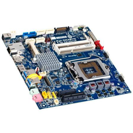 GA-H87TN rev.1.0 Gigabyte Intel H87 LGA1150 DDR3 Mini ITX Motherboard NO I/O USA Intel LGA1150 Motherboard ()