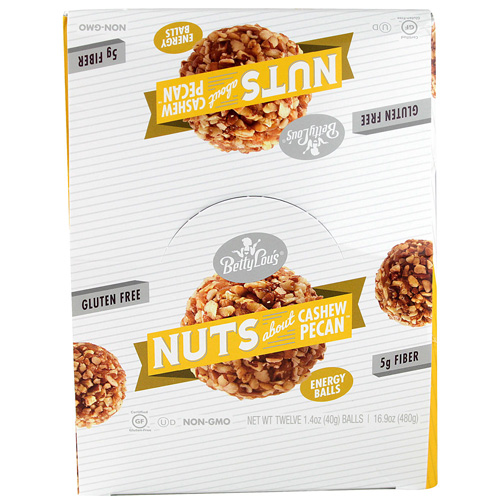 Betty Lou's Nut Butter Balls Cashew Pecan 1.4 oz 12 ct by Betty Lou's