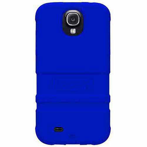 Trident PS-SAM-S4-BY AMS Perseus Series Protective Case for Samsung Galaxy S4/GT-I9500 - Retail Packaging - Navy Blue