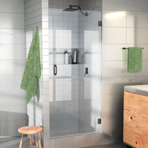 Glass Warehouse 24u0027u0027 X 78u0027u0027 Hinged Frameless Shower Door
