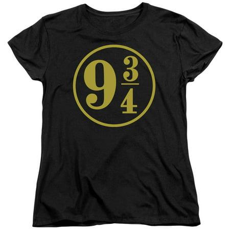 Harry Potter - 9 3/4 - Women's Short Sleeve Shirt - Medium