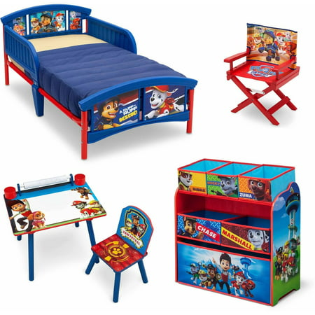 Nick Jr PAW Patrol Room In A Box With Bonus Chair