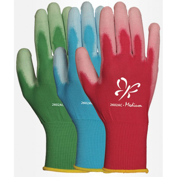 LFS Gloves 2602AC  (Large) ASSORTED REINFORCED FT/PU