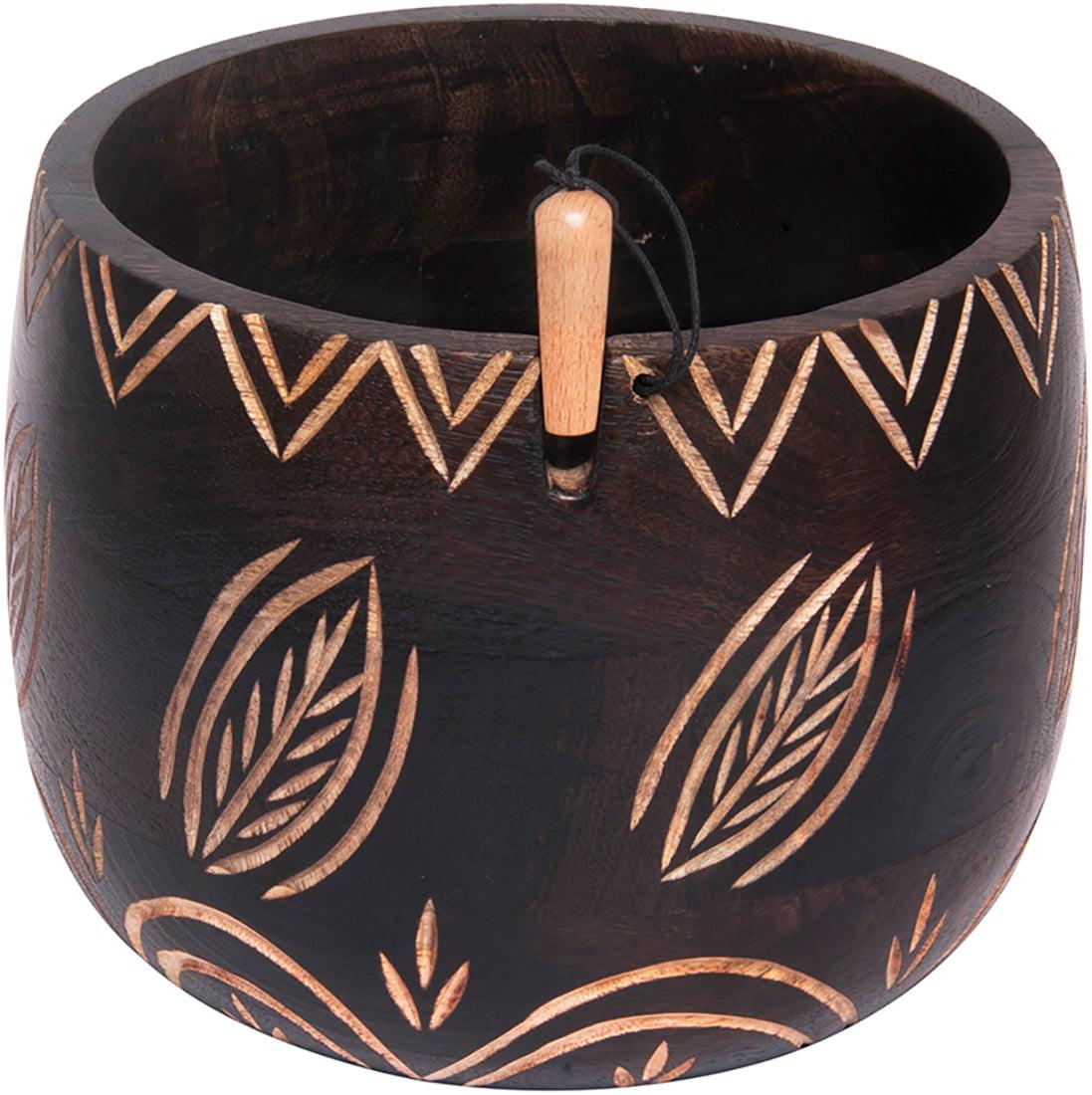 Yarn Bowl-Leafy