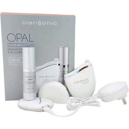Clarisonic Opal Technology for Anti-Aging System White for Unisex Sonic Skin Infusion Kit, 4 pc