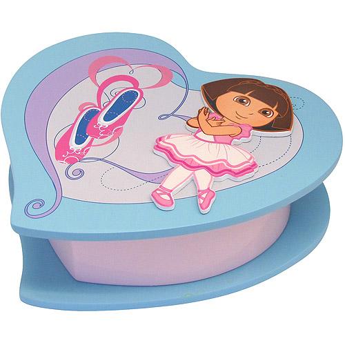 Dora the Explorer Heart-Shaped Box