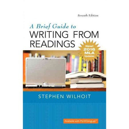 isbn 9780134586557 a brief guide to writing from readings new