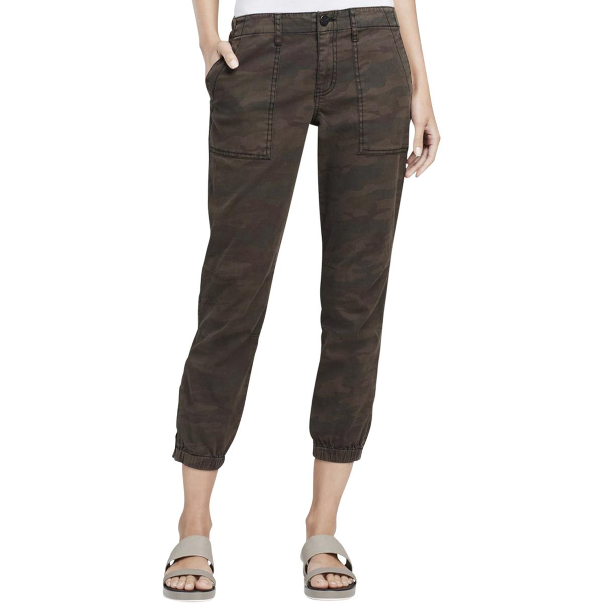 Sanctuary Womens Twill Camouflage Jogger Pants