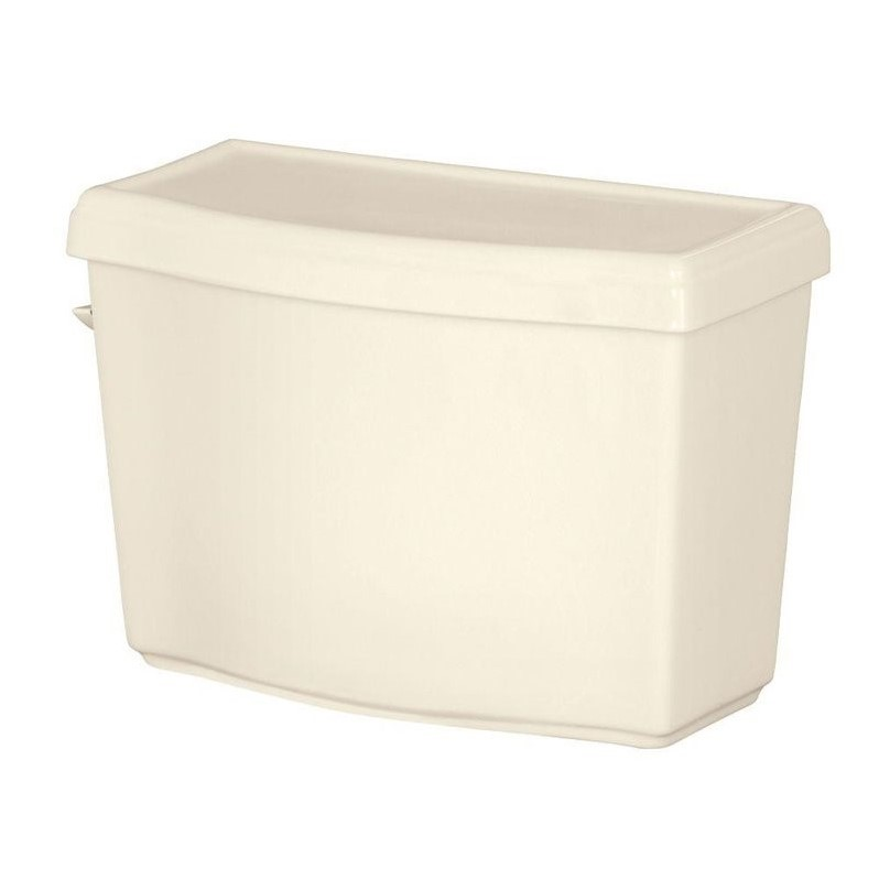 Allerton 1.28 GPF Toilet Tank Only in Biscuit