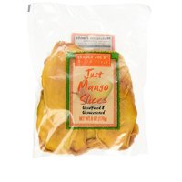 Trader Joe's Just Mango Slices Dried Mango 6 Ounce ( Pack of 5)