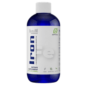 Liquid Ionic Iron Supplement | Improve Energy, Focus, & Mental Clarity, Blood Oxygen Levels, Healthy Heart & Muscle Support | 8 Oz, 48 Day Supply