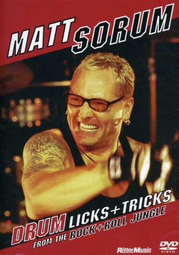 Drum Licks & Tricks from the Rock & Roll Jungle by Music Video Distributors