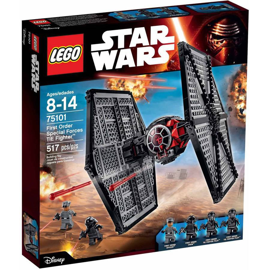 "LEGO Star Wars First Order Special Forces TIE fighter"" 75101"