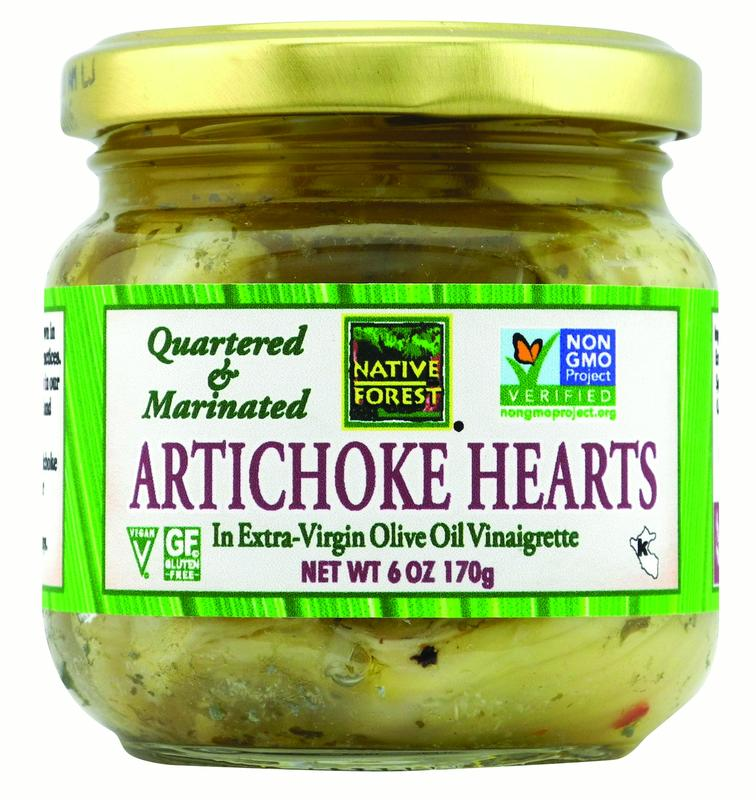 Native Forest Artichoke Hearts Marinated and Quartered 6oz
