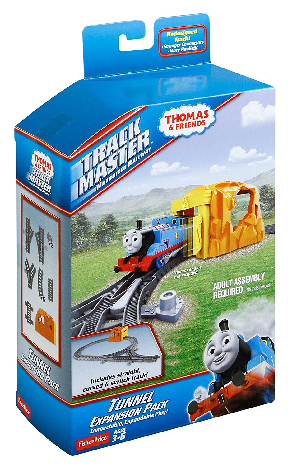 Trackmaster Thomas /& Friends Tunnel /& Track Expansion Pk Fisher Price ~NEW~