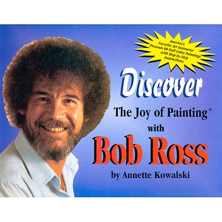 Autographed / Signed The Joy of Painting by Bob Ross