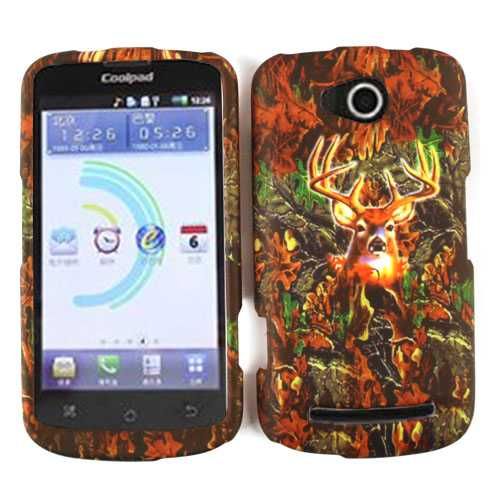 Snap-On Protector Case for Coolpad 5860E / Quattro 4G (Hunter Series with Deer)