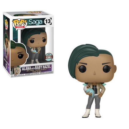 Funko 27413 Pop! Specialty Series Saga Alana with Baby Hazel - Baby Hazel Halloween Games Online