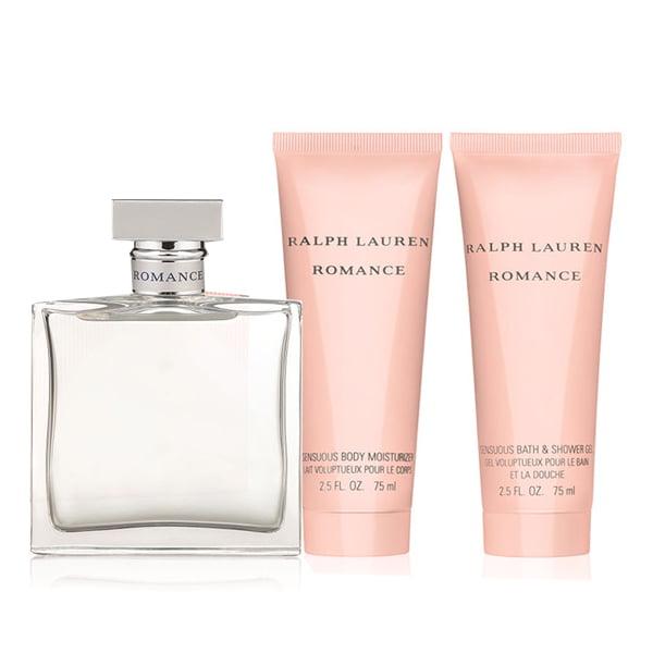 Romance Ralph Lauren Perfume Gift Set Women 3 pc