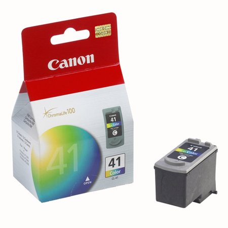 (Canon CL-41 Tri-Color Inkjet Print Cartridge)