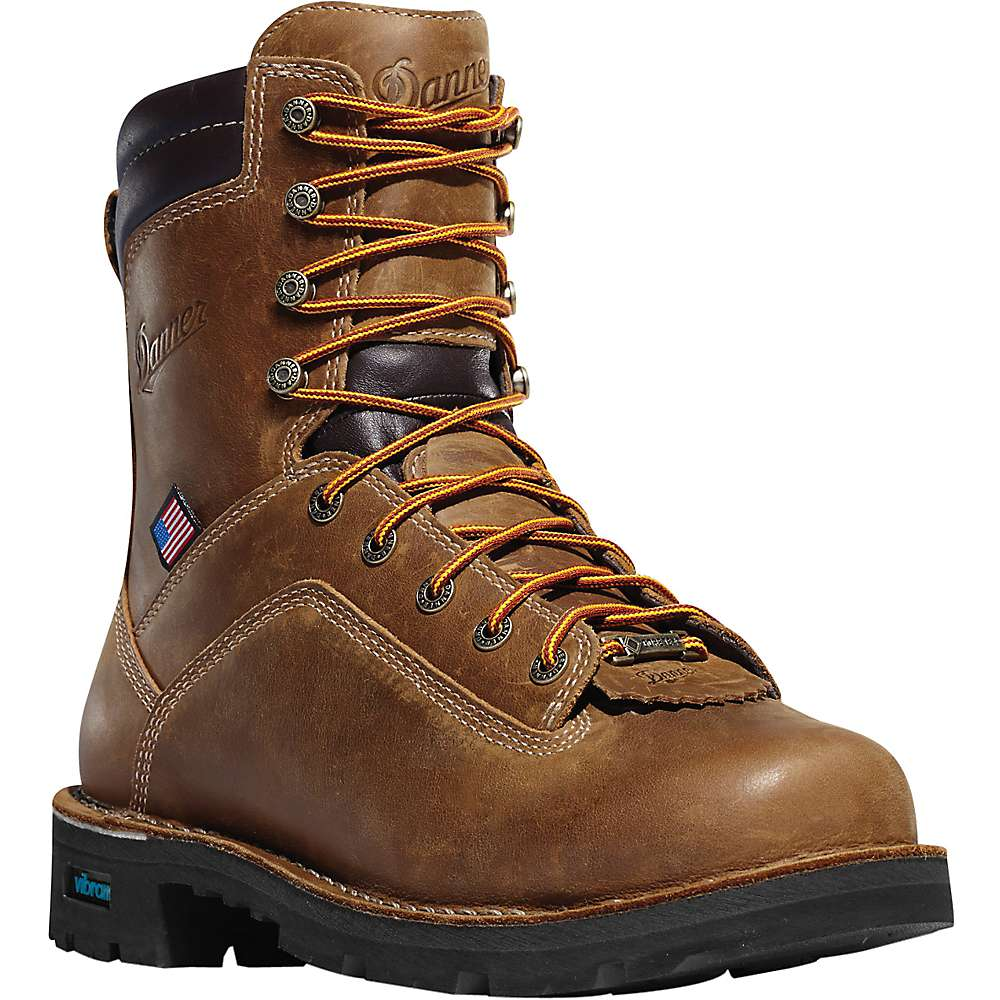 Danner Men's Quarry USA 8IN NMT 400G Insulated GTX Boot by Danner