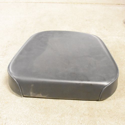 Seat Cushion for 2 Piece American Style Set, Steel Backed, Vinyl, Black, Used, John Deere, AL36324