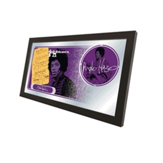 "Jimi Hendrix (Purple Haze) 15"" x 26"" Mirror by Holland Bar Stool Company"