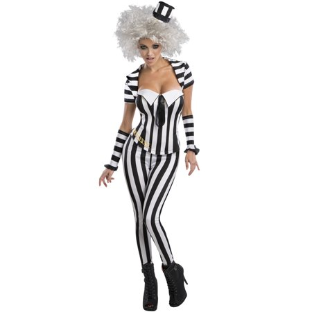 Secret Wishes Beetlejuice Adult Costume (Beatle Juice Costumes)