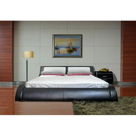 Greatime B1211 Modern Platform Bed, Queen,