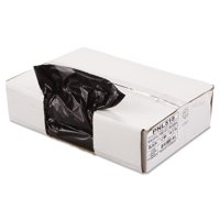 Penny Lane Linear Low Density Trash Bag, 1.2 Mil, 43 x 47, Black, 10 Bags/Roll, 10 Rolls/CT