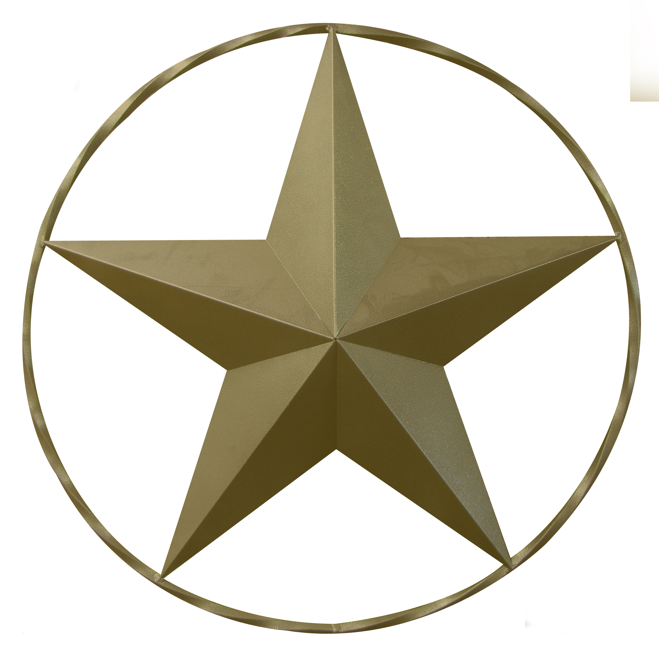 "Leigh Country 23"" Gold Star With Ring"