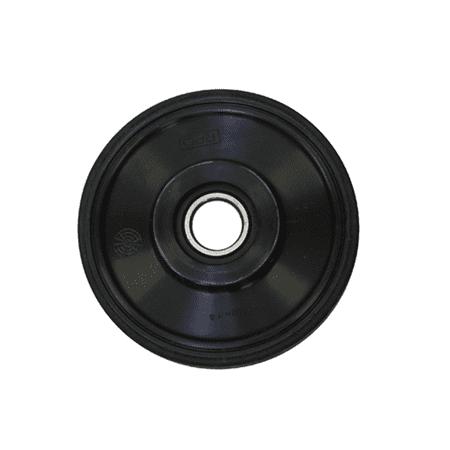 "PPD OEM IDLER WHEEL ARCTIC CATTHIN BLACK 5.630 OD X 1"" ID"