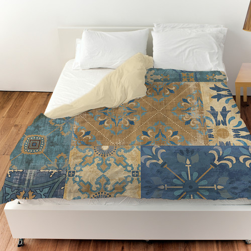 Manual Woodworkers & Weavers Moroccan Patchwork Duvet Cover