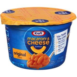 Kraft Easy Mac Macaroni & Cheese, Micro Cups, 2.05 oz