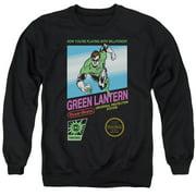 Green Lantern Box Art Mens Crewneck Sweatshirt